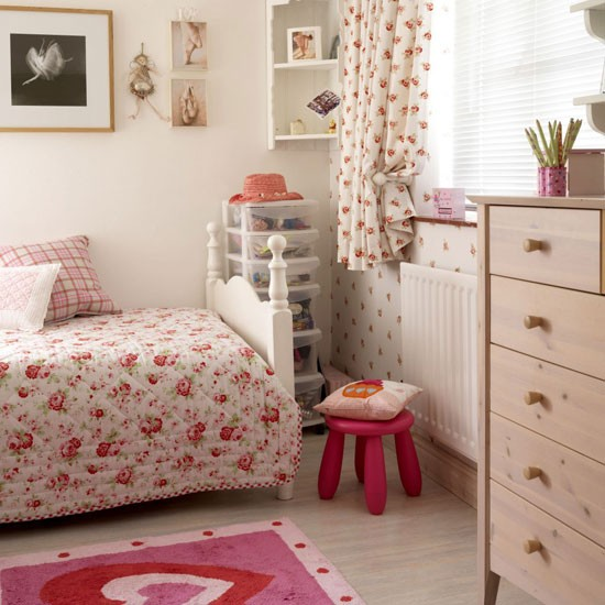 Pretty country bedroom