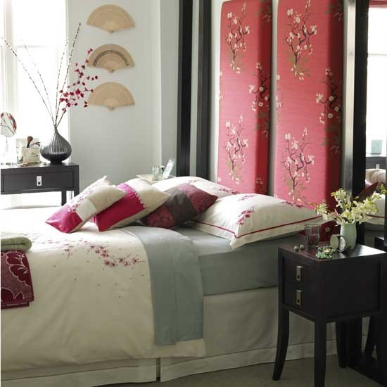 Oriental style bedroom bedroom furniture decorating for Japanese home decorations