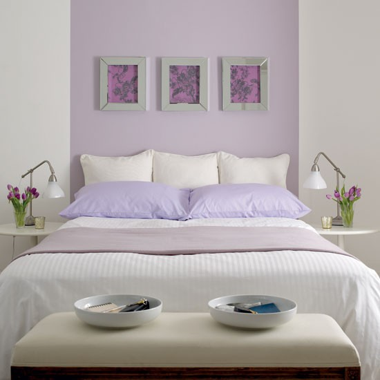 Fresh lilac bedroom | Bedroom funriture | Decorating ideas | Image | Housetohome