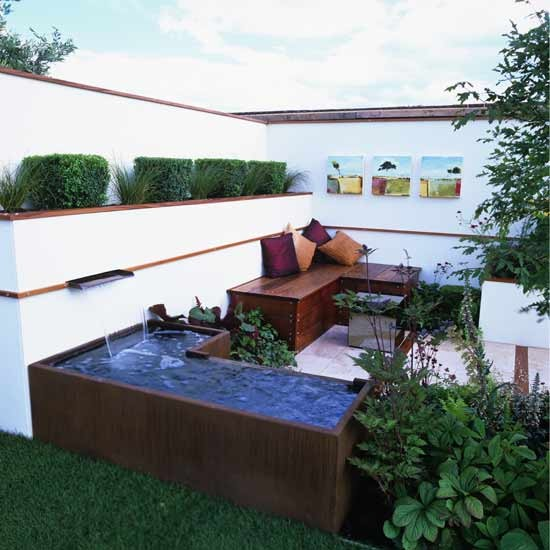 Outdoor living room garden | Garden design | Decorating ideas | Image | Housetohome