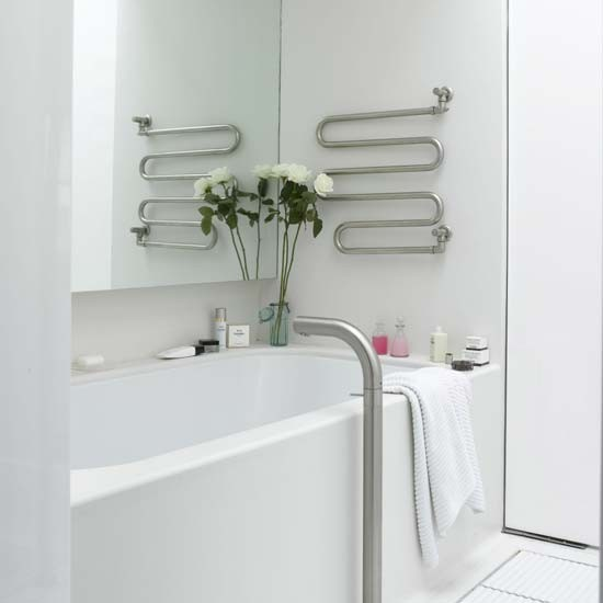 Simple white bathroom | Bathroom vanities | Decoratingi deas | Image | Housetohome