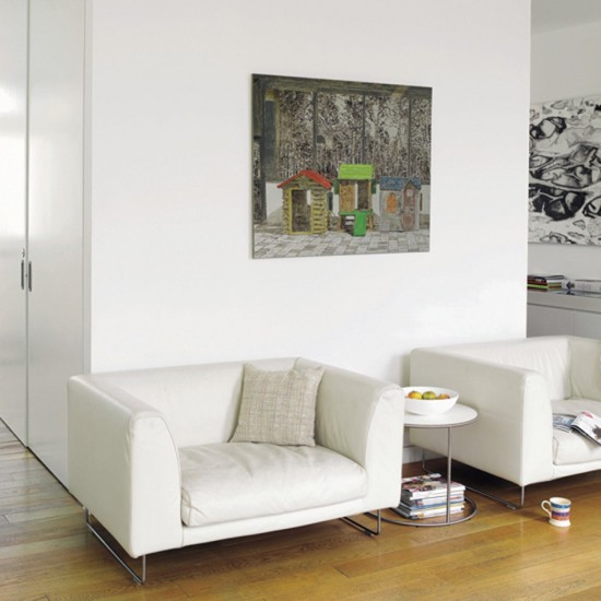 Living room with twin seats | Living room furniture | Decorating ideas | Image | Housetohome