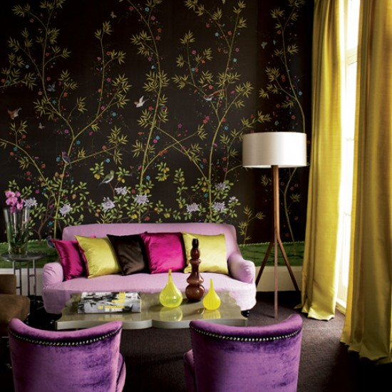 Exotic Living Room Living Room Design Decorating Ideas