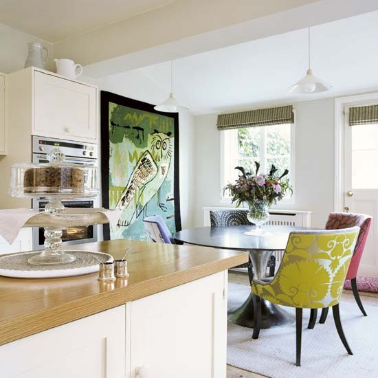 Playful Kitchen-dining Room