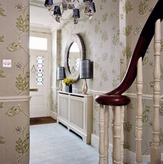 Ornate hallway | Hallway design | Decorating ideas | housetohome.