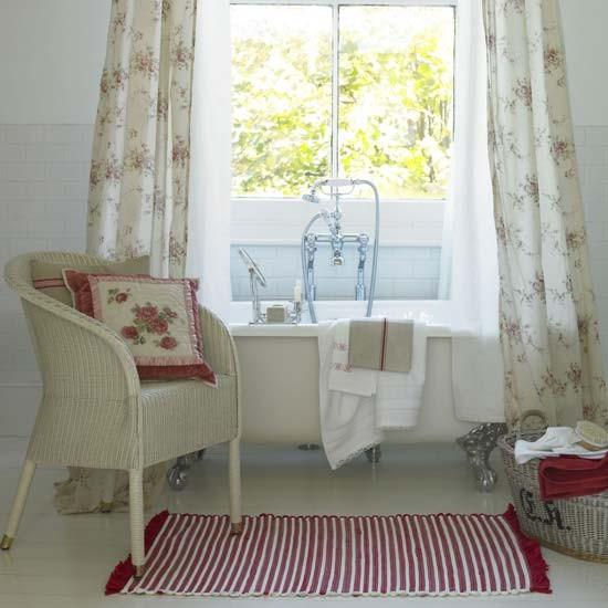 Pretty floral bathroom | Bathroom vanities | Decorating ideas | Image | Housetohome