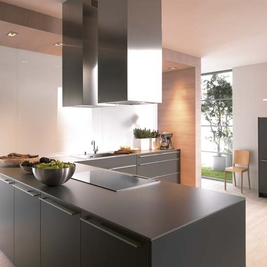 Matt black kitchen  Kitchen design  Decorating ideas  housetohome