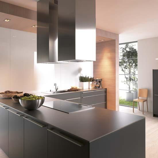 Black Kitchen Decorating Ideas: Matt Black Kitchen