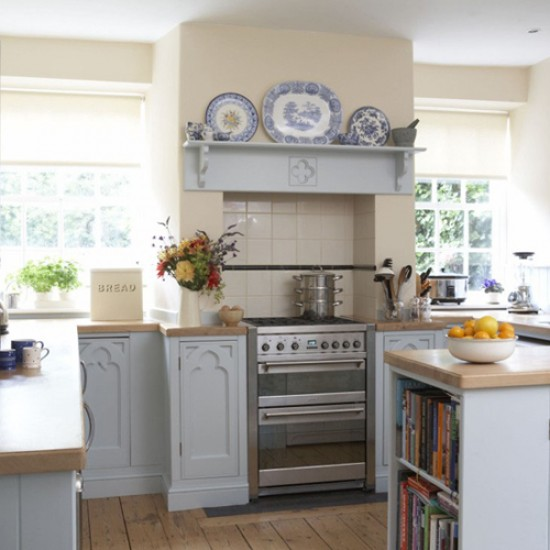 Country cottage kitchen kitchen design decorating for Cottage style kitchen design