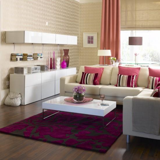 Pink Living Room Living Room Furniture Decorating Ideas