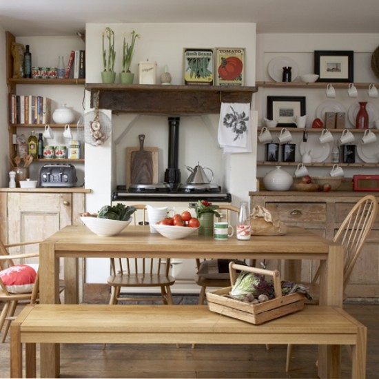 Rustic Kitchen Ideas For Decorating: Rustic Country Kitchen
