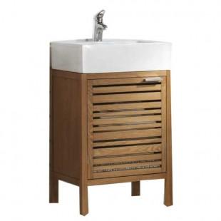 New Buy HOME Wooden Corner Bathroom Cabinet  White At Argoscouk  Your