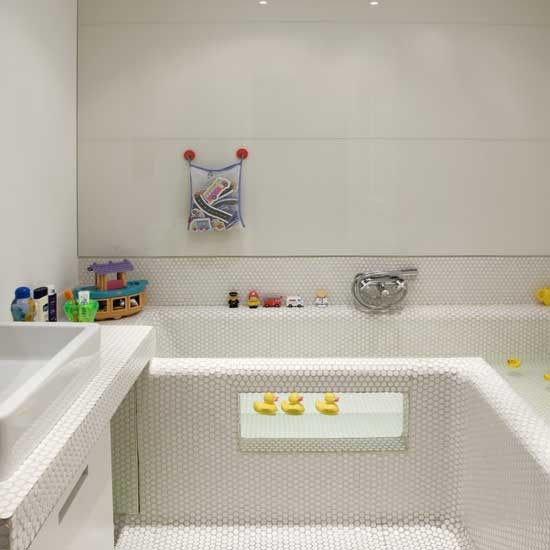 Playful Family Bathroom Bathroom Design Decorating Ideas