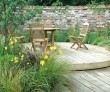Create an entertainment area with decking