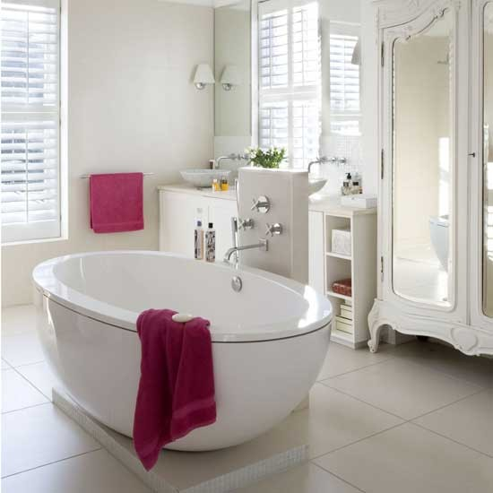 Feminine bathroom | Bathroom vanities | Decorating ideas | Image | Housetohome