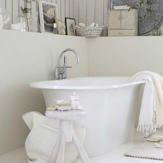 Tranquil bathroom | Bathroom vanities | Decorating ideas | Image | Housetohome