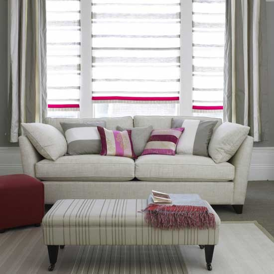 grey and pink striped living room living room furniture