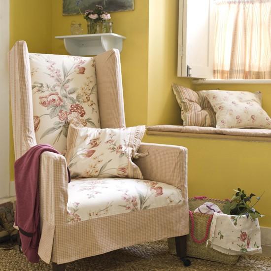 Cheerful living room corner | Living room furniture | Decorating ideas | Image | Housetohome