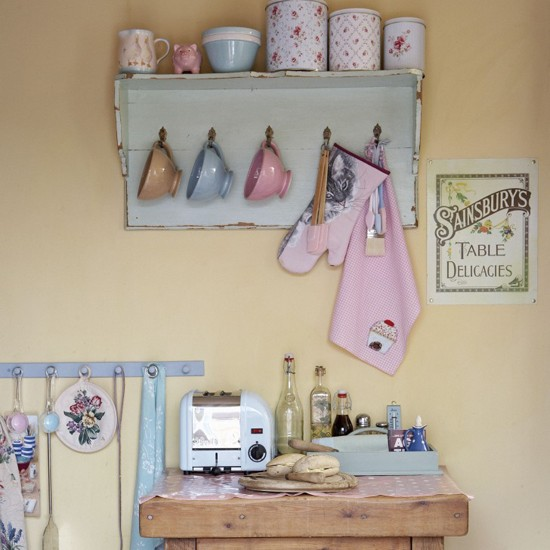 Utility room with pastel accessories | Utility room decorating | Design ideas | Image | Housetohome
