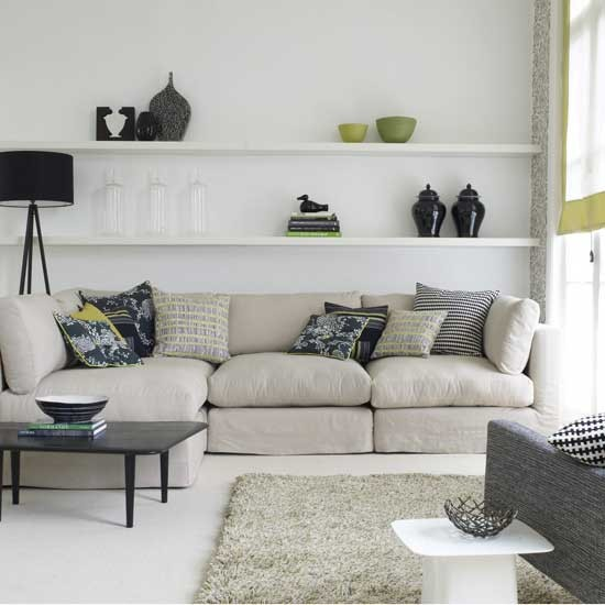 Updated classic living room | Living room furniture | Decorating ideas | Image | Housetohome