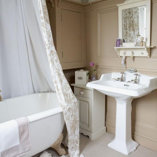 Panelled Bathroom Vanities Decorating Ideas