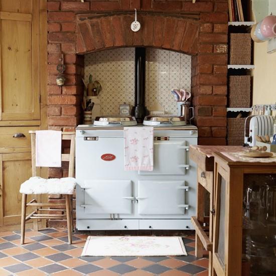 Stylish Country Kitchen Kitchen Design Decorating