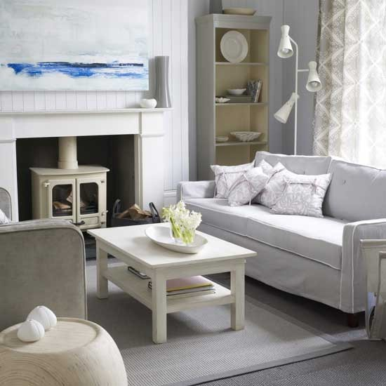 Smart nautical living room | Living room furniture | Decorating ideas | Image | Housetohome