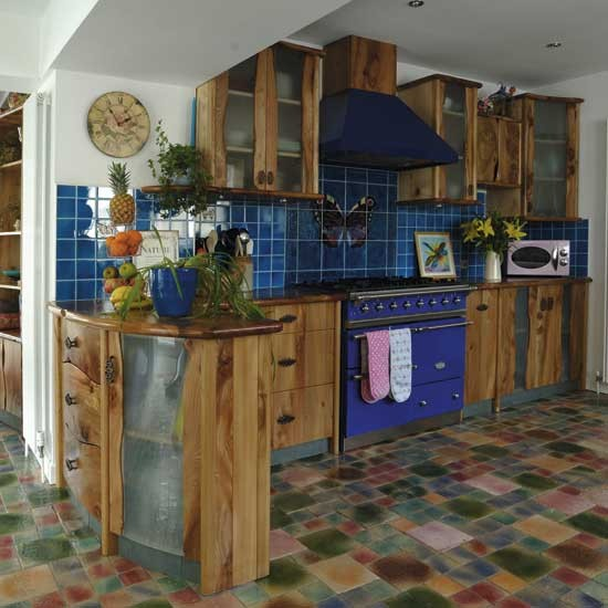Colourful kitchen | Kitchen design | Decorating ideas | Image | Housetohome