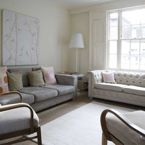 Classically modern living room | Living room furniture | Decorating ideas | Image | Housetohome