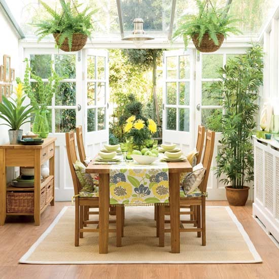 Kitchen Table And Chairs Homebase: Tropical Conservatory