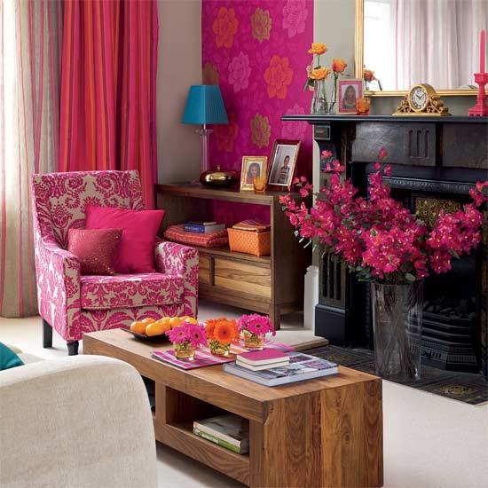 Bright Tropical Style Living Room Living Room Furniture