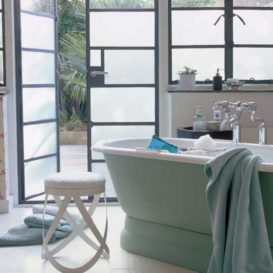 Fresh green bathroom | Bathroom vanities | Decorating ideas | Image | Housetohome