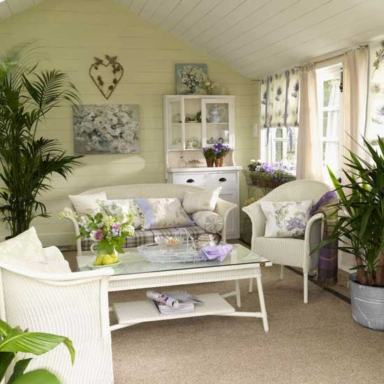 Garden Living Room Furniture Decorating