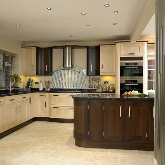 Two tone kitchen kitchen design decorating ideas for 2 tone kitchen cabinet ideas