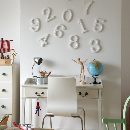 Child's study area | Home office | Office furniture | Decorating ideas | Image | Housetohome