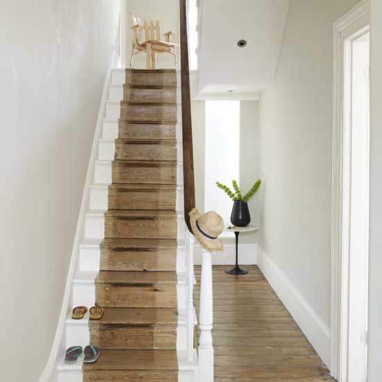 Simple hallway hallway design decorating ideas for Hallway decorating ideas