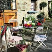 French farmhouse patio