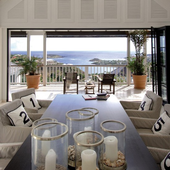 LE Luxurious summer dining room image - housetohome