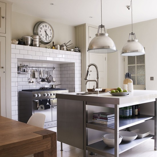 LE Industrial-style kitchen image - housetohome