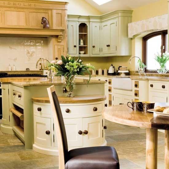 Kitchen Lighting Styles: Light Shaker-style Kitchen