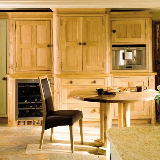 BK Oak Kitchen image - housetohome