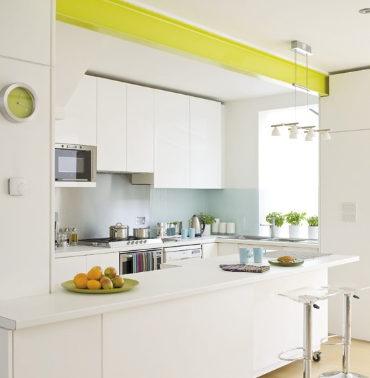 IH Citrus-coloured kitchen - housetohome