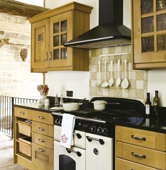 IH Traditional kitchen - housetohome