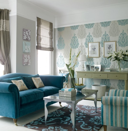 Rich and ornate living room IH image - housetohome