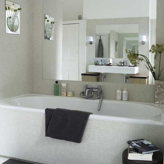 Calm bathroom | Bathroom idea | Tiles | Image | Housetohome.co.uk
