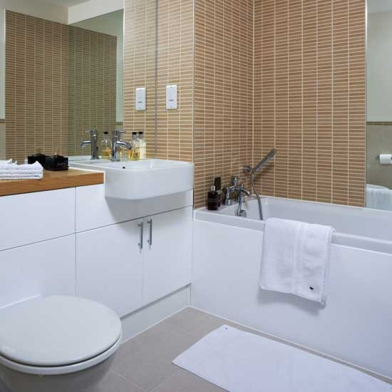 Neutral bathroom | Bathroom idea | Tiles | Image | Housetohome.co.uk