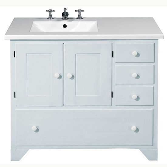 Vanity unit from Fired Earth | Vanity units | bathroom furniture | bathroom decorating ideas | bathroom | PHOTO GALLERY | 25 Beautiful Homes | Housetohome