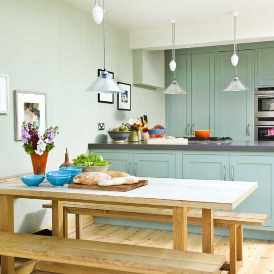 Mint kitchendiner  housetohome.co.uk