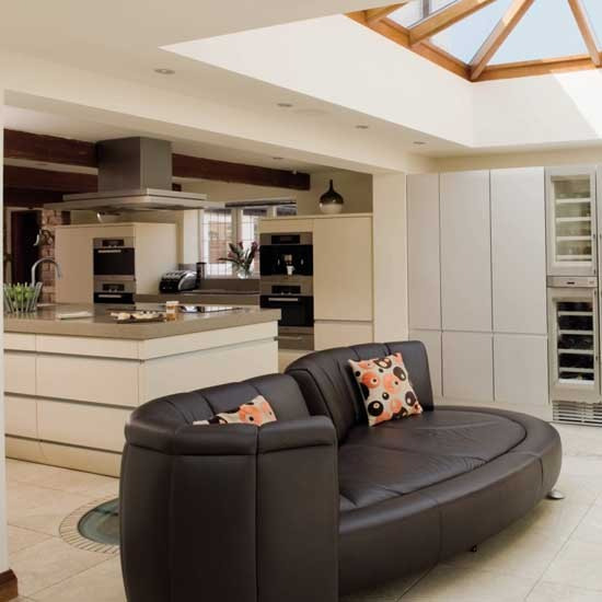 Open plan Kitchen living Room Housetohomecouk