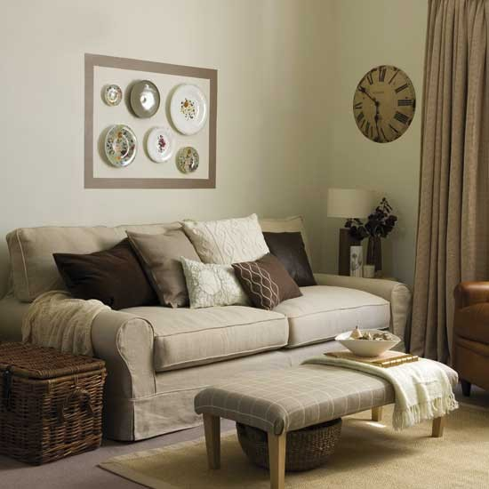 Warm and cosy living room - Cosy living room designs ...
